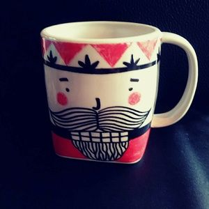Kristina Saywell For Anthropologie Mug/Cup KRAFTY